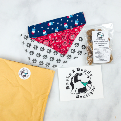 Barks & Beads Subscription Box Review & Coupon – June 2018