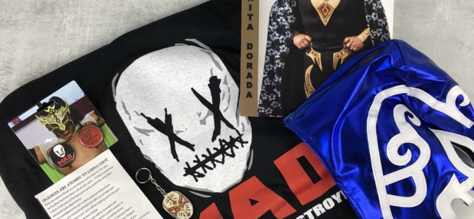 Lucha Loot Subscription Box Review & Coupon – May 2018