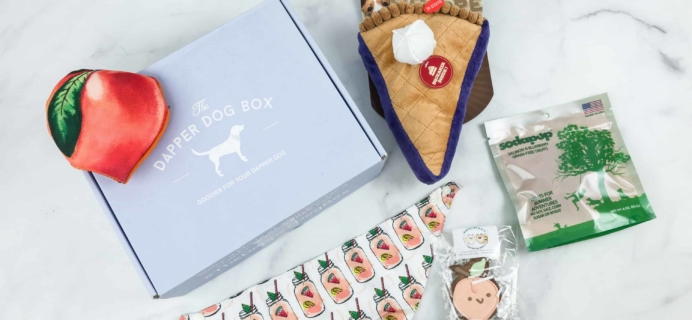 The Dapper Dog Box June 2018 Subscription Box Review + Coupon