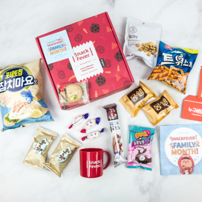 May 2018 Snack Fever Subscription Box Review + Coupon – Original Box