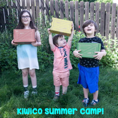 New KiwiCo Summer Camp Crates Available Now!