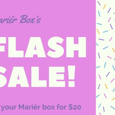 Marier Box Flash Sale: Get $20 Off Your First Box + Spoilers!