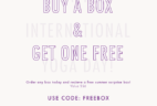Yogi Surprise Coupon – FREE Bonus Box with Subscription!