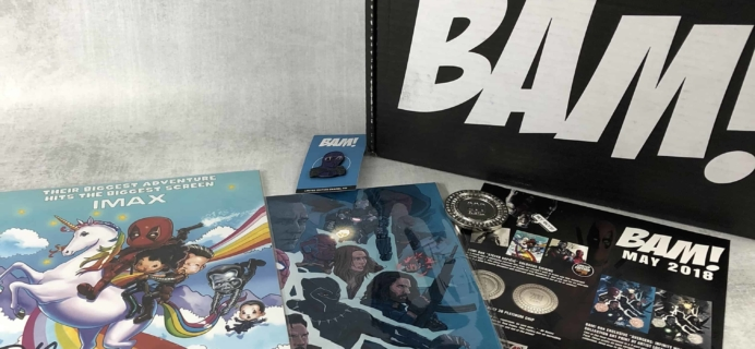 The BAM! Box May 2018 Subscription Box Review & Coupon