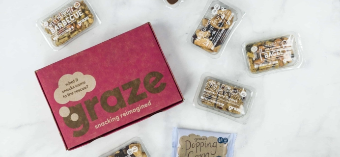 Graze Variety Box Review & Free Box Coupon – June 2018