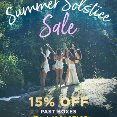 Goddess Provisions Summer Solstice Sale: Get 15% Off Past Boxes!