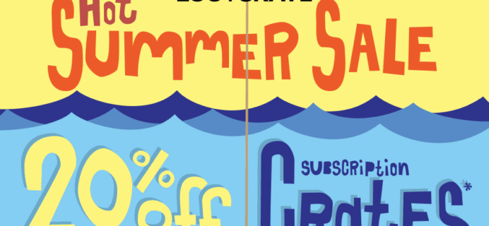 Loot Crate Summer Sale: 20% Off Select Crates + Up to $75 Vault Credit!