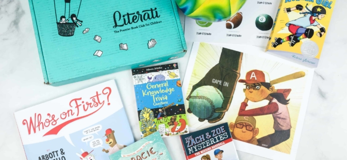 Literati Club Sage Box Review + Coupon – June 2018