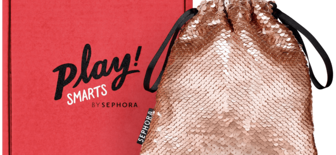 PLAY! by Sephora PLAY! SMARTS – Glitter Eyes for Real Life Limited Edition Box Launching Tomorrow!