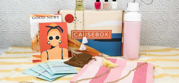 CAUSEBOX Summer 2018 Subscription Box Review + Coupon
