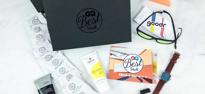 GQ Best Stuff Box Spring 2018 Subscription Box Review