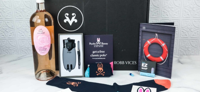 Robb Vices June 2018 Subscription Box Review + Coupon