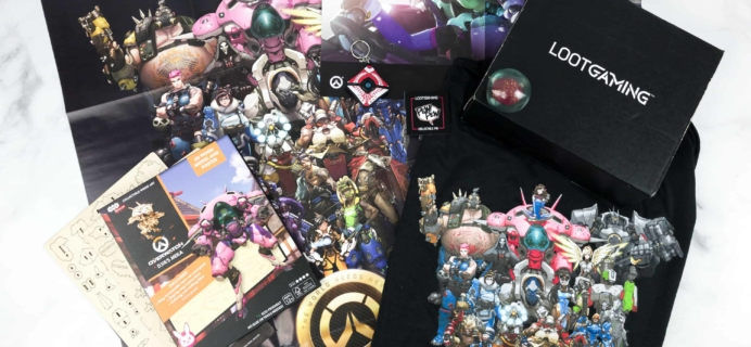 Loot Gaming May 2018 Subscription Box Review & Coupon