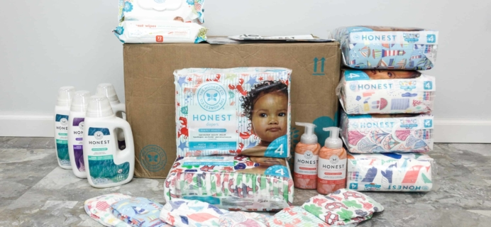 Honest Company Diaper Bundle Review + Coupons –  June 2018