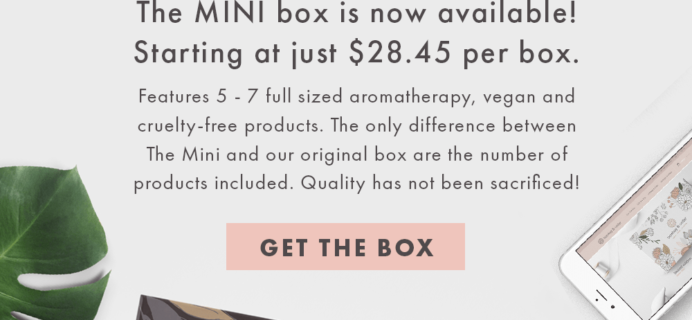New Mini Bombay & Cedar Box Subscription Now Available + 15% Coupon!