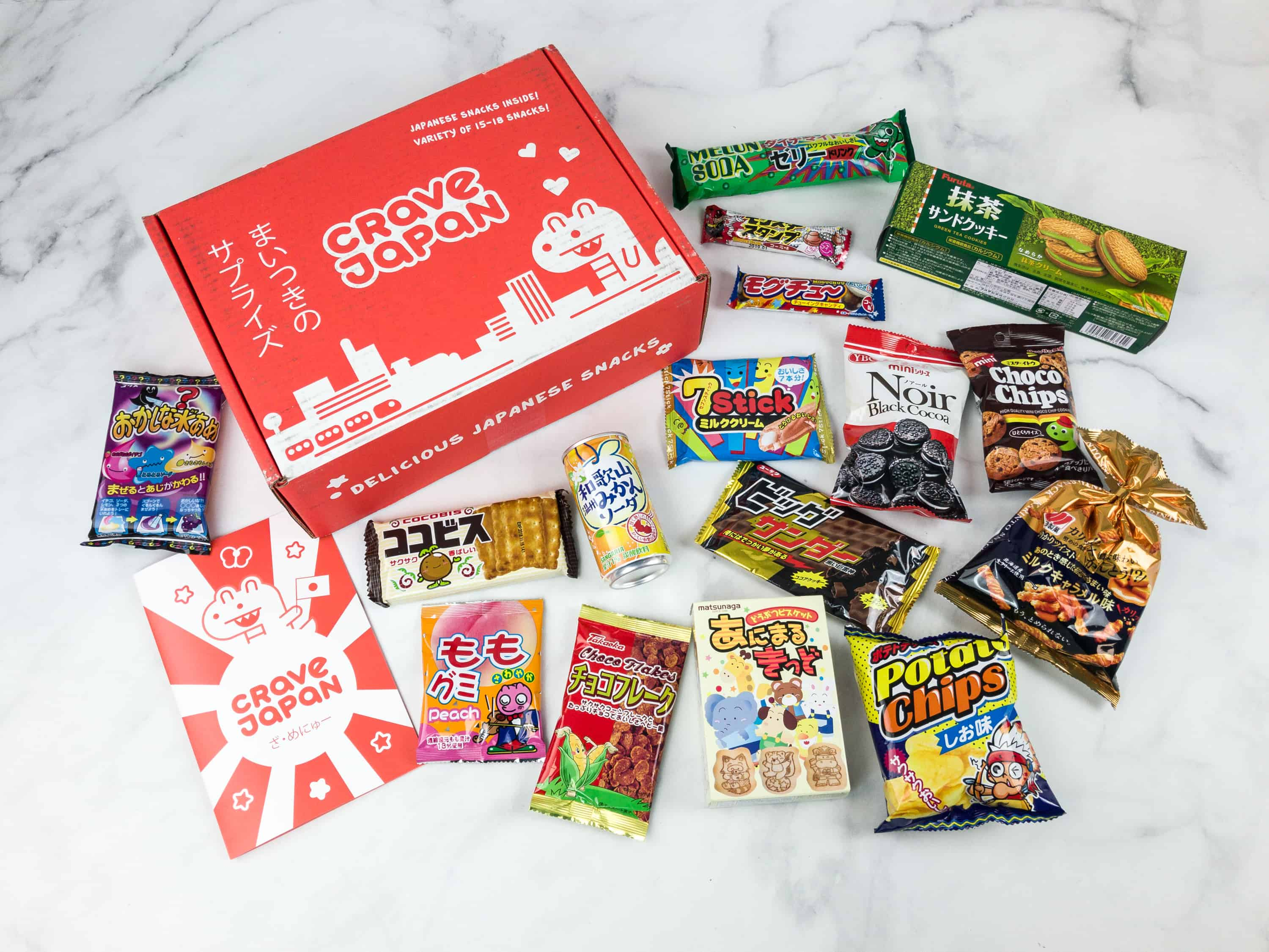 Crave Japan June 2018 Subscription Box Review + Coupon