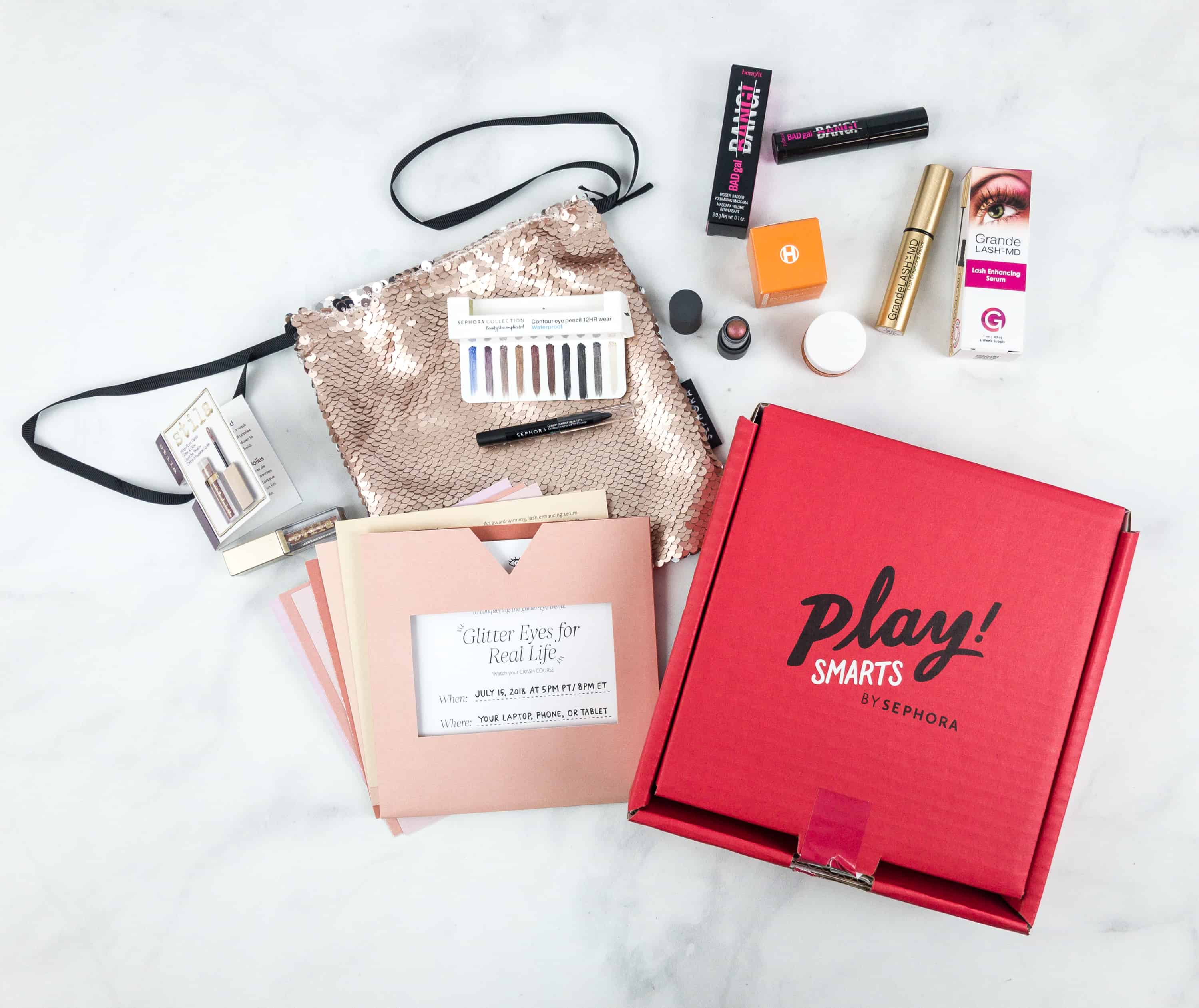 Play By Sephora Play Smarts Glitter Eyes For Real Life Limited