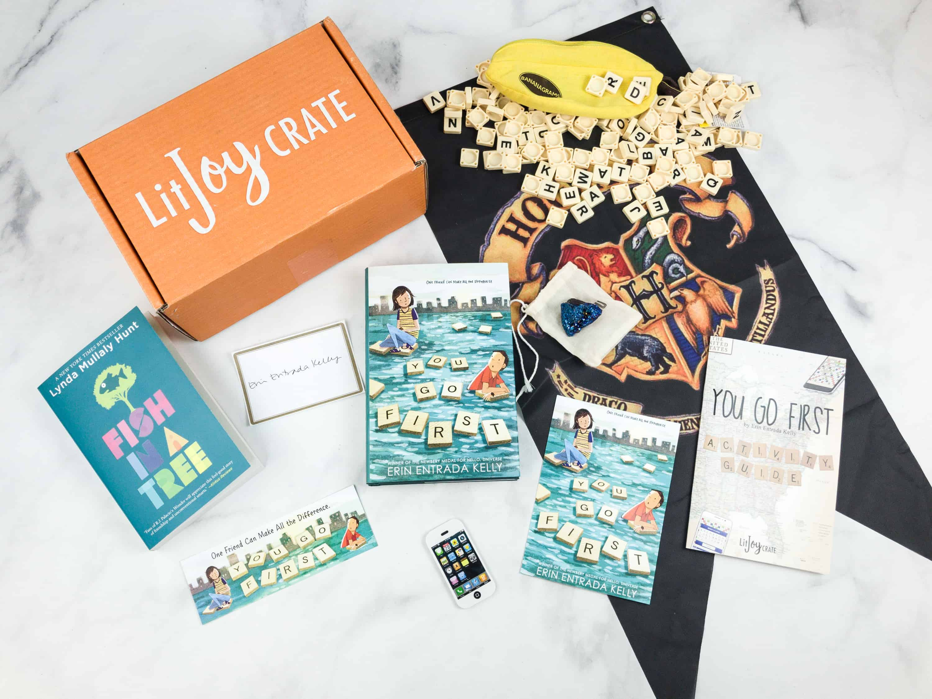 LitJoy Crate Summer 2018 Middle Grade Crate Subscription Box Review & Coupon