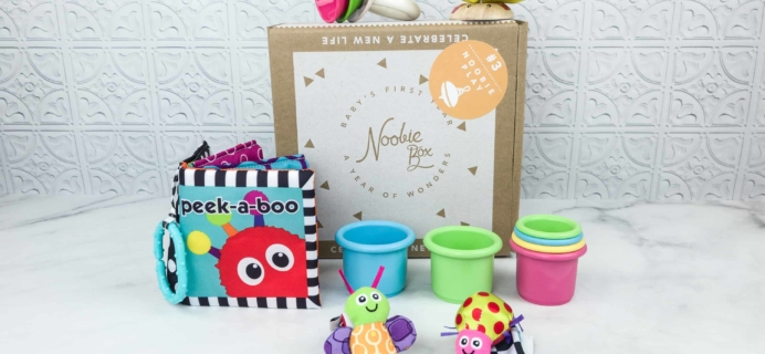 Noobie Box Milestone Box Review – Noobie Play
