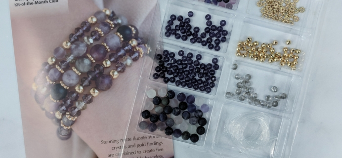 Annie's Simply Beads Kit-of-the-Month Club Subscription Box Review – June 2018
