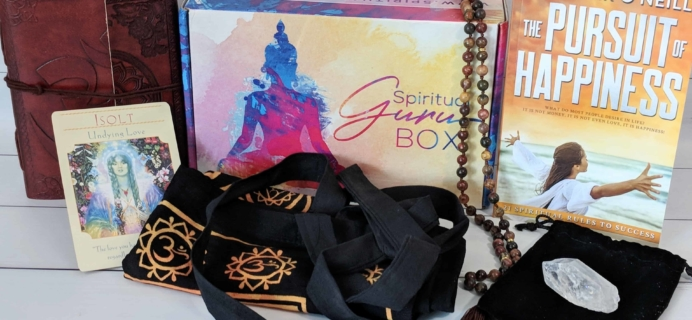 Spiritual Guru Subscription Box Review – June 2018