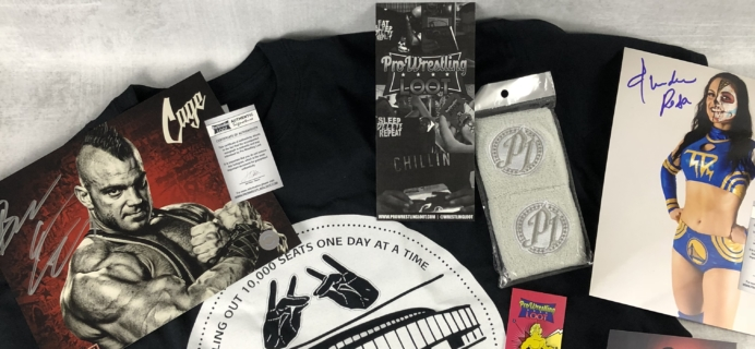 Pro Wrestling Loot June 2018 Subscription Box Review + Coupon