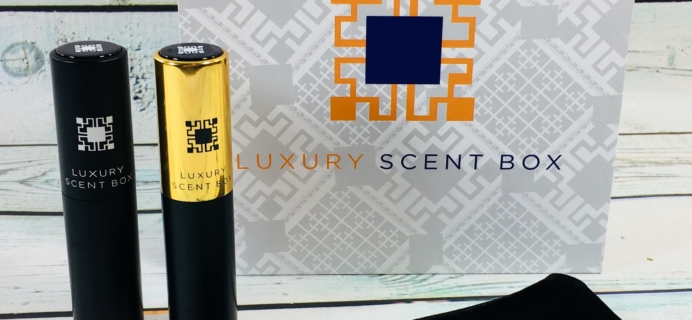 Luxury Scent Box Subscription Box Review + Coupon – June 2018