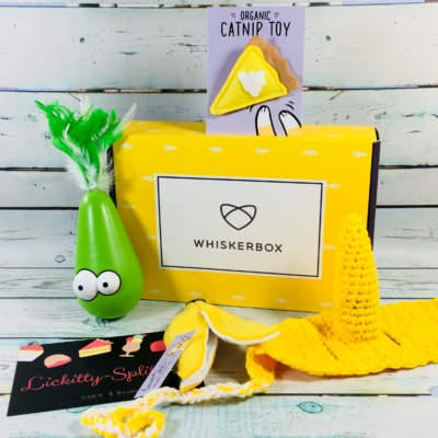 Whiskerbox June 2018 Subscription Box Review + Coupon