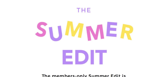 FabFitFun Summer 2018 Edit Sale Available to All Subscribers at Noon!