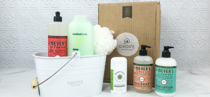 Grove Collaborative Subscription Box Review & Coupon – July 2018