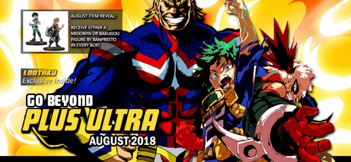 Lootaku August 2018 Theme Spoilers + Coupon!