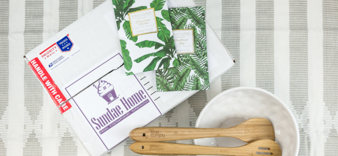 Sundae Home May-June 2018 Subscription Box Review + Coupon!