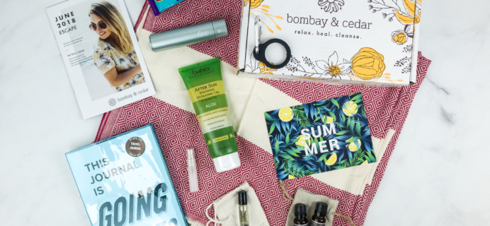 Bombay & Cedar June 2018 Subscription Box Review + Coupon