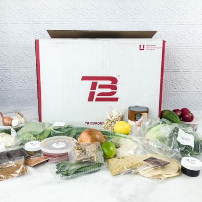 TB12 Performance Meals June 2018 Subscription Box Review
