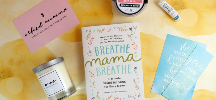 Oxford Momma May 2018 Subscription Box Review & Coupon