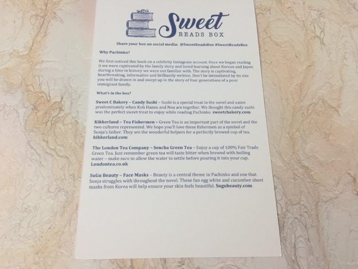 sweet reads box july 2018 subscription box review coupon hello