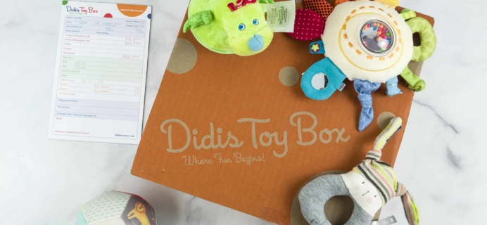 Didis Toy Box July 2018 #1 Subscription Box Review & Coupon