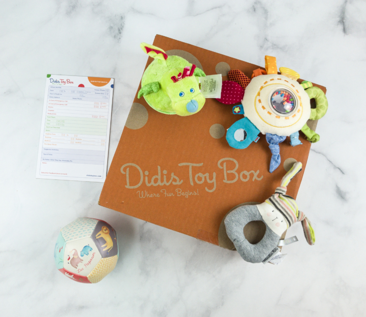 Didis Toy Box July 2018 #1 Subscription Box Review & Coupon - hello subscription