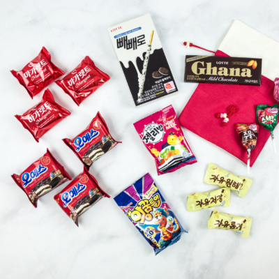 Korean Snacks Box July 2018 Subscription Box Review + Coupon