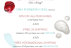 Beauty Heroes July 4th Promo: Get 10% Off All Purchase In The Beauty Store + Free Shipping! LAST CALL!