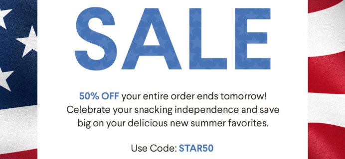 Naturebox July 4th Coupon: Save 50% on First Order! LAST CALL!