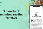 Kindle Unlimited Amazon Prime Day Deal: 3 Months for 99¢!