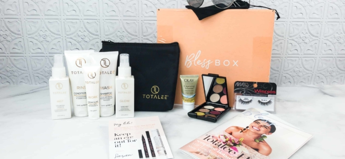 Bless Box June 2018 Subscription Box Review & Coupon