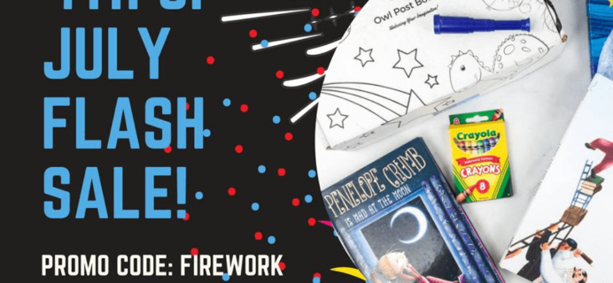 Owl Post Books July 4th Flash Sale: Get 20% Off Lifetime!