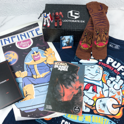Loot Crate DX June 2018 Subscription Box Review & Coupon