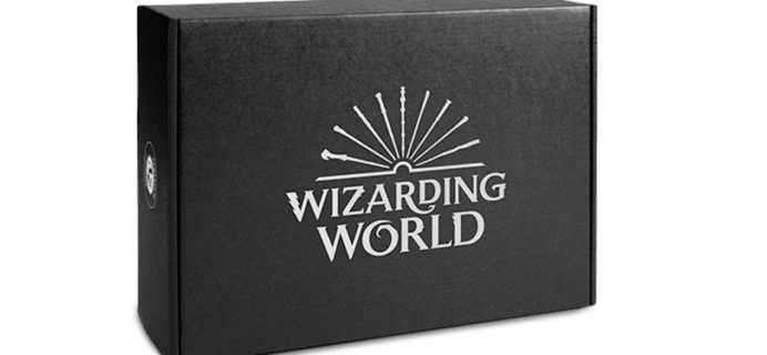 Wizarding World November 2018 Box Theme Spoilers + Coupon!