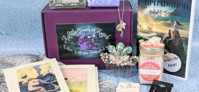 A Little Touch of Magick Mystery Box Subscription Review + Coupon – June 2018