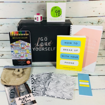 Go Love Yourself July 2018 Subscription Box Review + Coupon