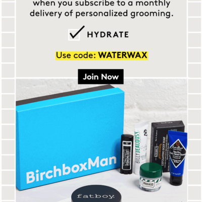 Birchbox Man Coupon: FREE Full-Size Fatboy Hair Wax with Subscription!