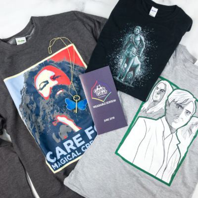 Geek Gear World of Wizardry Wearables June 2018 Subscription Box Review + Coupon